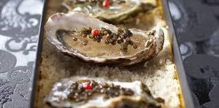 comment cuisiner des huitres huîtres en gelée d agrume au caviar facile recette sur cuisine