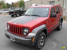 red jeep liberty 2010 2010 salsa red pearl jeep liberty renegade 4x4 28595432 photo 2