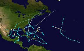 Blank Hurricane Tracking Map by 1934 Atlantic Hurricane Season Wikipedia