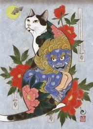 tattoo cat neko kazuaki horitomo kitamura monmon cats 73 фотографии horitomo