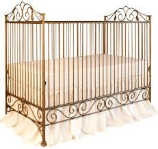 Bratt Decor Crib Casablanca Crib Vintage Gold Traditional Cribs By Bratt
