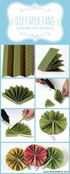 paper fans diy diy paper fans mar fans lighting