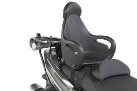 siege bebe scooter shopping givi s 650 un siège moto pour votre enfant motostation