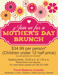 Mothers Day Mothers Day Flyer Templates