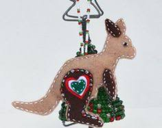 unique australian decoration kangaroo by c3creativity