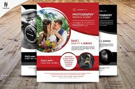 photography flyer template flyer templates creative market