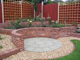 brick garden walls home design ideas and pictures