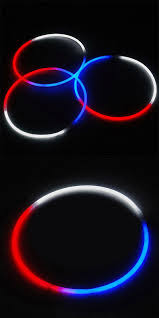glow necklaces glow sticks 51019 150 24 light stick glow necklaces white and