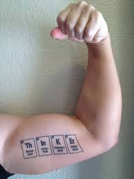 tattoos on biceps for guys 70 science tattoos collection
