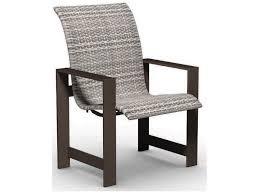 Homecrest Holly Hill by Homecrest Grace Aluminum Sling Standard Back Dining Chair 10370