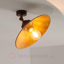 Deckenleuchte Schlafzimmer Messing Deckenleuchte Rua Aus Oxidiertem Messing Kaufen Lampenwelt De