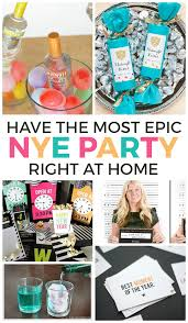 New Years Eve House Party Decorations by 20 Ways To Have An Epic At Home New Years Eve Party