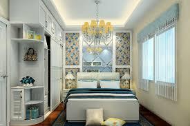 2015 pop korean style bedroom background wall renovation 3d house