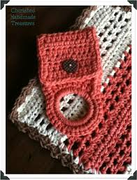 pattern crochet towel holder crochet crochet towel holder cherished handmade treasures