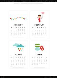 cute calendar template template free download speedy template