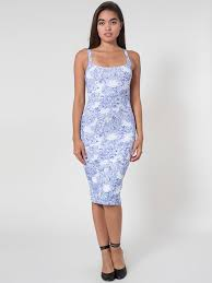 light blue tank dress american apparel printed ponte tank dress where to buy how to wear