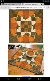 Fall Table Runners by