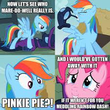 Rainbow Dash Meme - meddling rainbow dash my little pony friendship is magic know