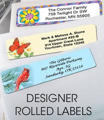 return address labels artistic labels