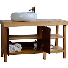 Small Wood Bathroom Vanity - Solid wood bathroom vanity top