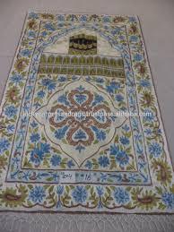 hand made prayer rugs from kashmir buy muslim prayer rug indian