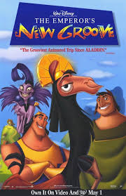 the emperor u0027s new groove movie poster 27x40 used walt disney