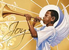 trumpet merry card