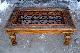 Custom Coffee Table by Custom Grillwork And Metalwork La Puerta Originals
