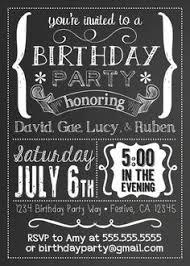 black and white birthday invitations black and white birthday