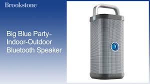 big blue party big blue party indoor outdoor bluetooth speaker