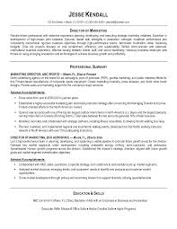 Experiential Marketing Resume Resume Format For Sales And Marketing Manager Free Resume