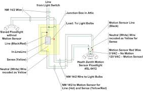 heath zenith motion sensor light wiring diagram webtor me
