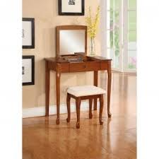 Wood Vanity Table Flip Top Vanity Table Foter