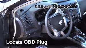 Diagnostic Port Car Engine Light Is On 2013 2015 Nissan Altima What To Do 2014