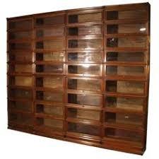 Bookcase Mahogany Rare Wernicke System