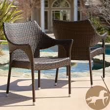 Overstock Patio Dining Sets - luxury outdoor wicker dining chairs in home remodel ideas with
