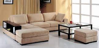 Sectional Sofa With Ottoman Modern Sectional Sofa With Ottomans And Wooden Bookcase 1 399 00