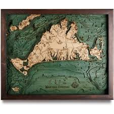 Norfolk County Wall Map Framed 3d Nautical Wood Map Art Great Lakes Cape Cod Chesapeake Hawaii