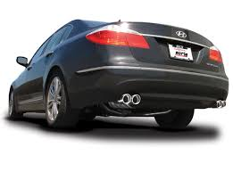 hyundai genesis back hyundai genesis exhaust system performance cat back