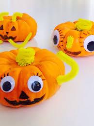 easy halloween craft pumpkin friends lazy mom u0027s blog