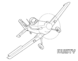dusty coloring page 28 images plane dusty with friends