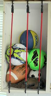 sports ball garage storage solution the organized mama