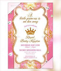 17 princess invitations free psd vector ai eps format download