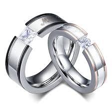 verlobungsringe paar daesar männer frauen verlobungsringe edelstahl ring für paar