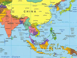 Maps Of Southeast Asia by Download Southeast Asia Political Map Major Tourist Attractions Maps