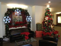 christmas decorations tree office desk decoration ideas for