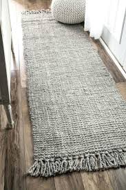 Shaggy Runner Rug Grey And Black Rug Shaggy Runner Rug Details About