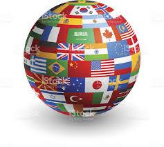 flags globe stock vector art 482559155 istock