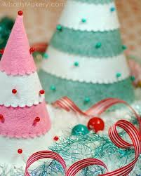 Decorate Your Own Christmas Tree Felt by 29 Best Felt Ornaments Images On Pinterest Christmas Ideas