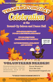 the up saloon and 5th annual feed the